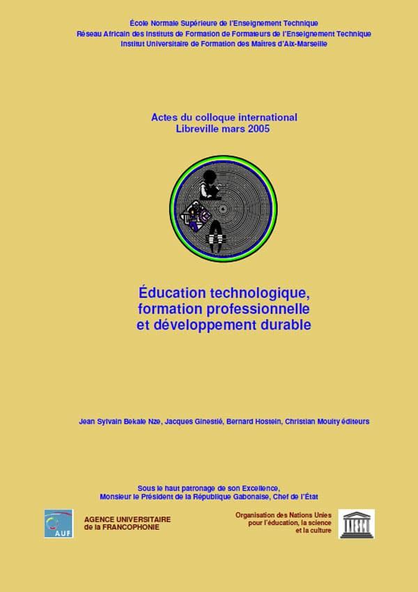 Actes du colloque international RAIFFET de LIBREVILLE au GABON du 22 au 25 mars 2005