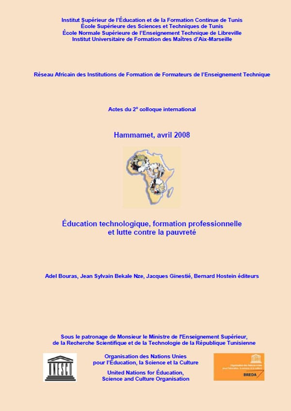 Actes du colloque international RAIFFET de Hammamet en TUNISIE du 15 au 18 avril 2008